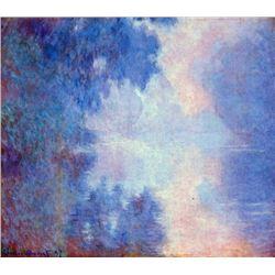 Claude Monet - Seine in Morning