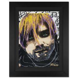 "Kurt's Music Notes (Cobain) by ""Ringo"" Daniel Funes"