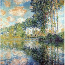 Claude Monet - Poplars on the Epte