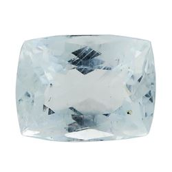 7.25 ct.Natural Rectangle Cushion Cut Aquamarine