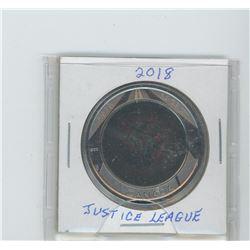 2018 lenticular coin  the justice league  quarter