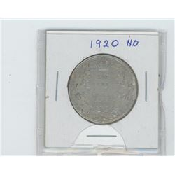 1920 narrow  0  fifty cent coin