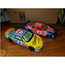 2 NASCAR DIE-CAST CARS #43 JOHN ANDRETTI