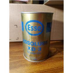 ESSO XD-3 OIL TIN (FULL)