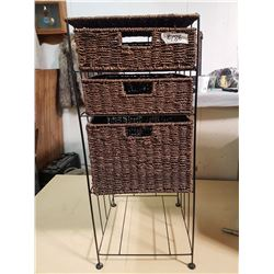 Wicker Drawer System