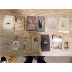 14 Antique Photographs