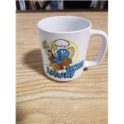 Sporty Smurf Coffee Mug