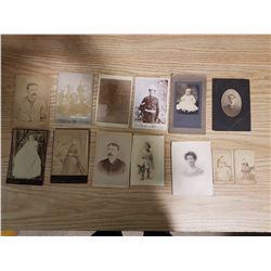 13 Antique Photographs