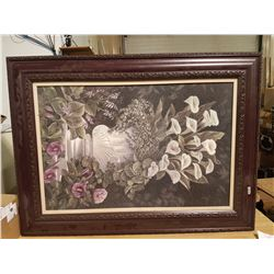 """Beautiful 34"""" X 46"""" Framed Picture"""