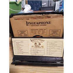 Linguaphone - 30 French Lessons on 78 RPM Records