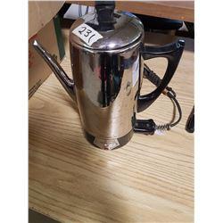 Coronado Electric Coffee Perculator - Works