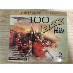 8 CD Set of 100 Jazz Hits