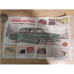 1953 Ford Advertising Page