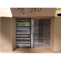 Box of 55 CD's - Various Artists