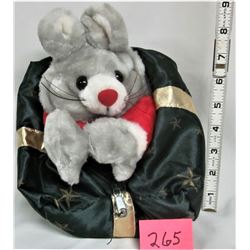 "Xmas ""Mouse"" plush ""Reversible"" Present"