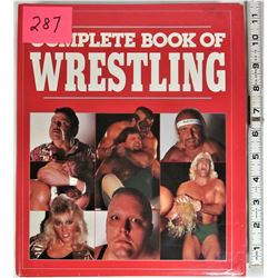 "Vintage 1988 Hard Cover ""Complete Book of Wrestling"" Dust Cover 384 pages"
