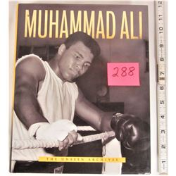 "Vintage 2001 Hard Cover ""Muhammed Ali"" Unseen Archives Dust Cover 384 page book"