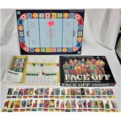 1974 Waddingtons FACE OFF Slapstick Hockey Management BOARD GAME