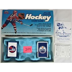 1985 Grand Toys NHL Hockey CARD GAME Edmonton Oilers-Winnipeg Jets