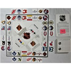 1986 NHL HOCKEY CHALLENGE Hockey Trivia Board Game