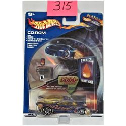 2002 Mattel Planet Hot Wheels CD ROM