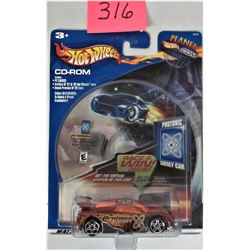 2003 Mattel Planet Hot Wheels CD ROM