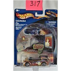 2004 Mattel Planet Hot Wheels CD ROM