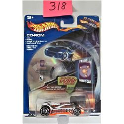 2005 Mattel Planet Hot Wheels CD ROM