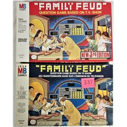 Both 1977 and 1978 FAMILY FEUD Board Games