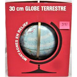 "Boxed 12"" Diameter Replogle WORLD GLOBE"