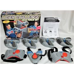 """Lot of 1997 Grand Toys """"Electronic"""" LASER CHALLENGE Team Force"""