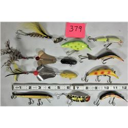 Lot of 10 Vintage Fishing Lures