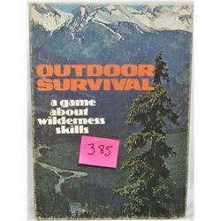1972 Avalon Hill Bookshelf Game Outdoor Survival
