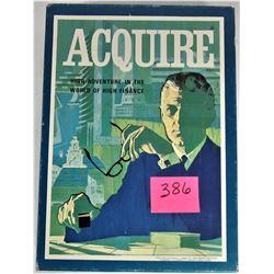 1976 Avalon Hill Bookshelf Game Acquire Financial Care