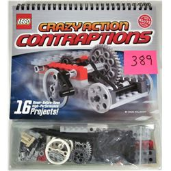 """New 2008 Lego """"Crazy Action Contraptions"""" Kit Set"""