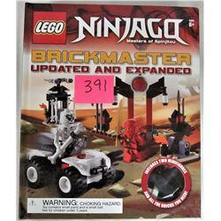 """New 2014 LEGO NINJAGO Masters Spinjitzu"""" Brickmaster"""" Updated Expanded Set"""