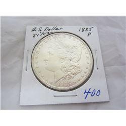 Morgan Silver Dollar 1885 P