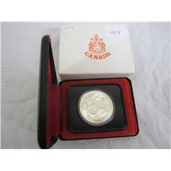 Canadian Silver Dollar1974