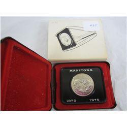 Canadian Silver Dollar 1970