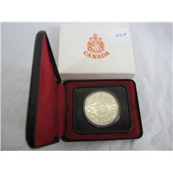Canadian Silver Dollar 1978