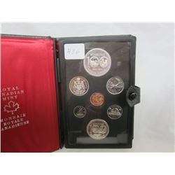 Canadian Double Dollar Set 1974