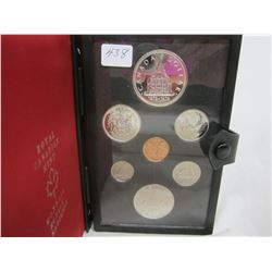 Canadian Double Dollar Set 1976