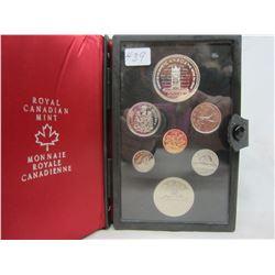 Canadian Double Dollar Set 1977