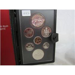 Canadian Double Dollar Set 1980