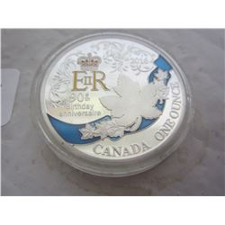 Canadian 2016 1oz. Coin Queens Birthday