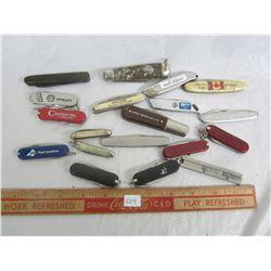 Lot of vintage pocketknives