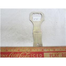 Vintage Coca - Cola bottle opener