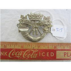 World War 2 Cap Badge Battleford