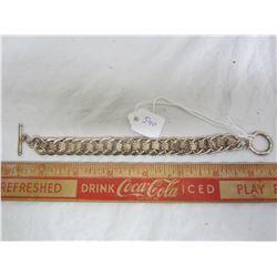 Heavy Sterling Silver Bracelet 37 grams