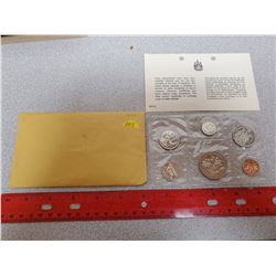 1970 6-coin Proof Like set. The dollar celebrates the 100th Anniversary of Manitoba joining confeder